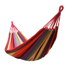 Outdoor Fun Sports Toy Swings Outdoor Leisure Hammock Indoor Swing 1.85m*0.8m Canvas Give Rope Load 200KG