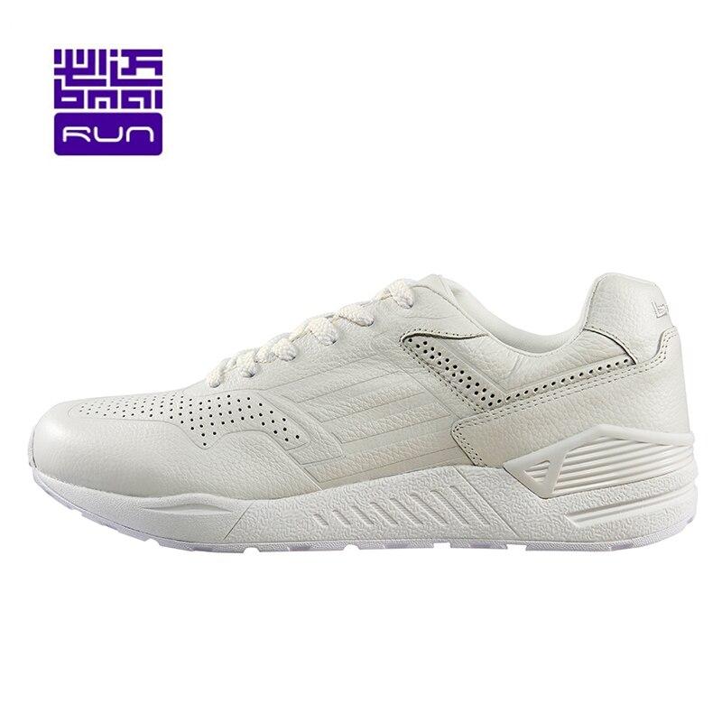 Hot 2017 Printemps Hiver Chaussures de Course pour Hommes En Cuir Amorti Sport Respirant Femmes Sneakers Amortissement de Sport En Plein Air Chaussures