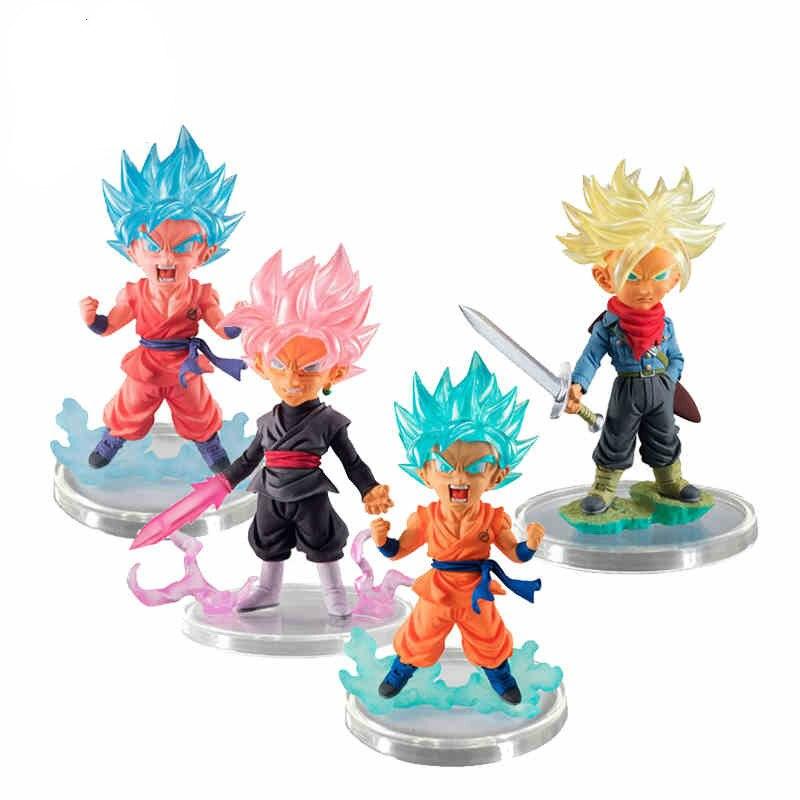 где купить Dragon Ball SUPER Figure Gashapon UG 07 Ultimate Grade~ SS Trunks,SS God Kaioken Rose Goku ~ 100% Original по лучшей цене