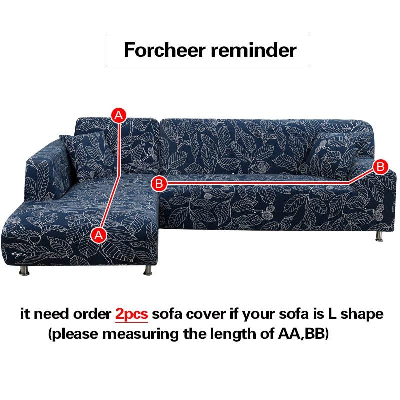 Sofa Penutup Besar Elastisitas 100% Polyester Spandex Peregangan - Tekstil rumah - Foto 3