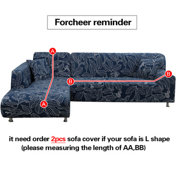 Corner Sofa Cover For L-Shaped Sofa 5 Chair And Sofa Covers
