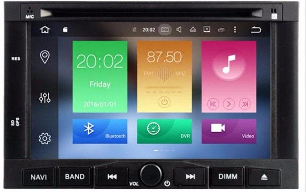 Android9.0 lecteur DVD CD de voiture pour Peugeot 307 2002-2010 pour Peugeot 207/3008 2009-2011 GPS Satnav unité GPS navigation multimédia