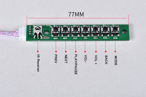 Image 5 - Audio Video Decoder 4.3 LCD Screen DTS Lossless Bluetooth Module mp4/mp5 HD Video APE/WAV/MP3 Decoding Board FM Module
