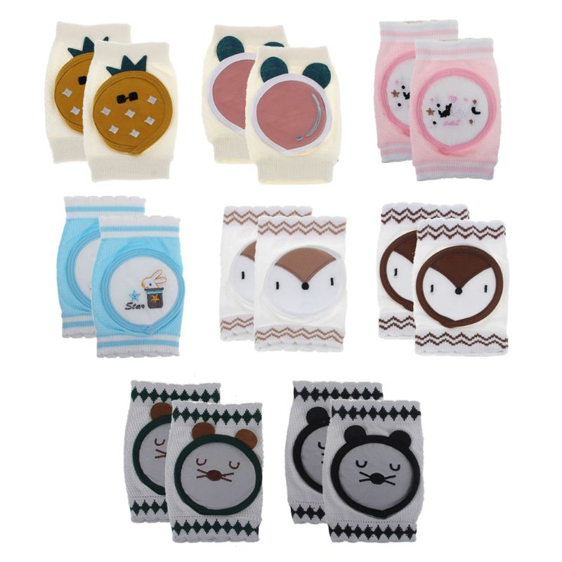 Baby Knee Pad Protector Kid Safety Crawling Elbow Cushion Baby Kneecap 8 styles