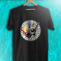 OKOUFEN Personalised T Shirts Short Gift O Neck Regular Show Mordecai And Rigby Oooohh Black White