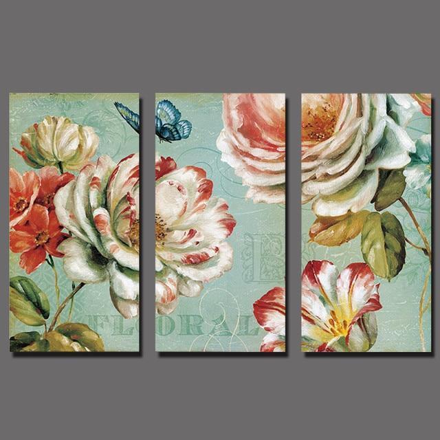 Online Shop 3 stks/set Rode witte bloemen decoratie vlinder Rose ...