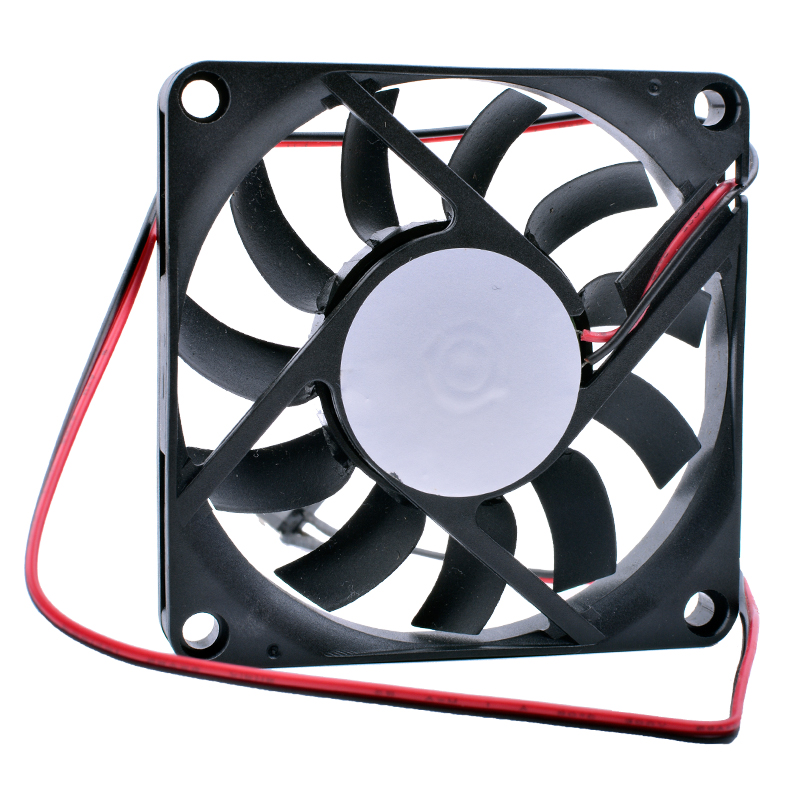 COOLING REVOLUTION <font><b>7010</b></font> 7cm 70mm fan 70x70x10mm DC 5V USB ultra-thin cooling fan image