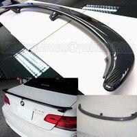 BMW için Fit E92 3 serisi 320I 325I 330I 335I AC karbon fiber arka spoiler