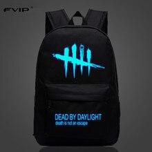เกมเย็นกระเป๋าเป้สะพายหลัง Dead By Daylight Luminous กระเป๋าเป้สะพายหลังสำหรับวัยรุ่นกระเป๋าเดินทางกระเป๋า