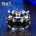 Beier новый магазин Нержавеющей Стали 316L кольцо высокое качество животных байкер кольцо тигра Ювелирные Изделия BR8-307