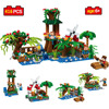 416pcs Minecrafted Toys Mine World Pavilion Toy Compatible Legoes Minecrafted City Building Blocks Educational Toys For
