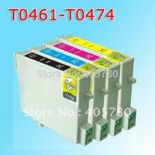 T0461/T0472/T0473/cartucho de tinta compatível para STYLUS C63 T0474/C65/C83/C85 CX6300 /CX6500/CX3500