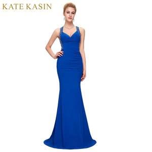 2883ca4023 Kate Kasin Women Mermaid Evening Dresses Long Formal Gowns