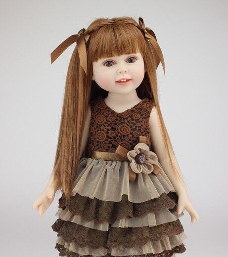 18 inch American girl doll Baby Alive Toys girl birthday gift Valentine's Day dolls brinquedos meninas