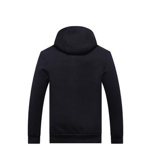 Image 2 - New Arrival Winter Thickening Hoodies Men Casual Jacket Fur Lining Solid Warm Cloth Zipper Coats Sweatshirts Cashmere Parkas 624