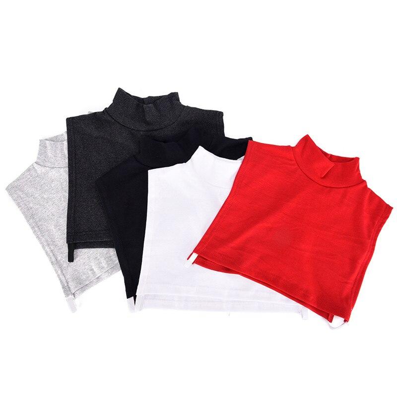 1 PC Fake collar Detachable Cotton High Shirt Fake False Collar Choker Necklace Fashion Collarr