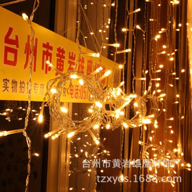 2018 Spotlight Christmas Lights Curtain Lamp Low Voltage Solar Energy Beautiful British Regulation Australian Led Color Light