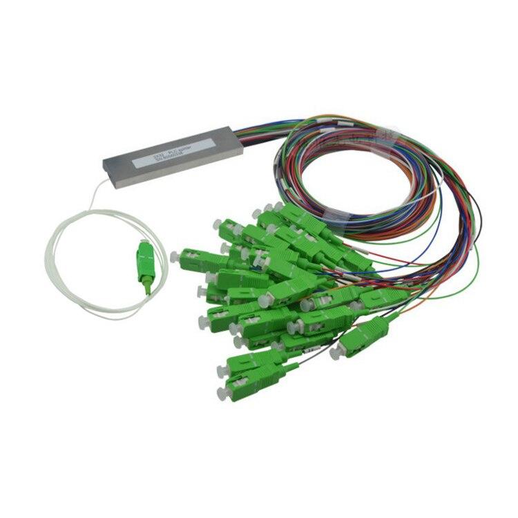 1x32 SC/APC  steel tube Type 0.9MM Fiber PLC Optic Splitter1x32 SC/APC  steel tube Type 0.9MM Fiber PLC Optic Splitter