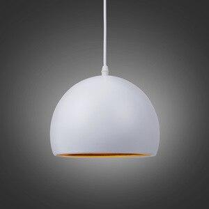Image 3 - Moderne Einfache Ball E27 Anhänger Lichter Cafe Restaurant Beleuchtung Anhänger Lampe Leuchten Schmücken Lampe Droplight