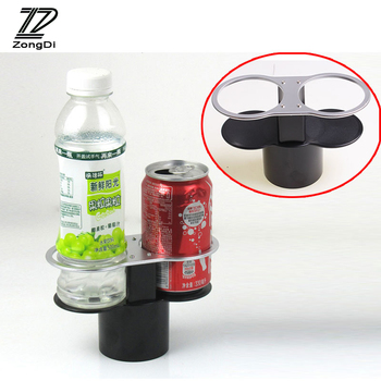 ZD 1X Double Cup Holder Water Cup Holder For Mitsubishi lancer 10 asx Chery tiggo BMW e46 e90 e60 e36 e39 e87 e30 aaccessories image