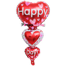 String of Baloon Big Spanish I Love You Happy Day Balloons Party Decoration Heart Engagement Anniversary Wedding Valentine Ball