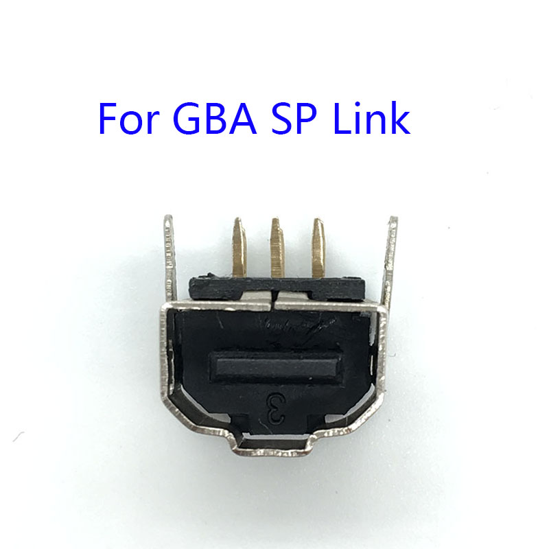 50PCS Link Connector Plug Connect Port Jack For Nintendo Gameboy Advance GBA SP Console Link Socket