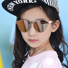 Round Vintage Fashion Kids Sunglasses