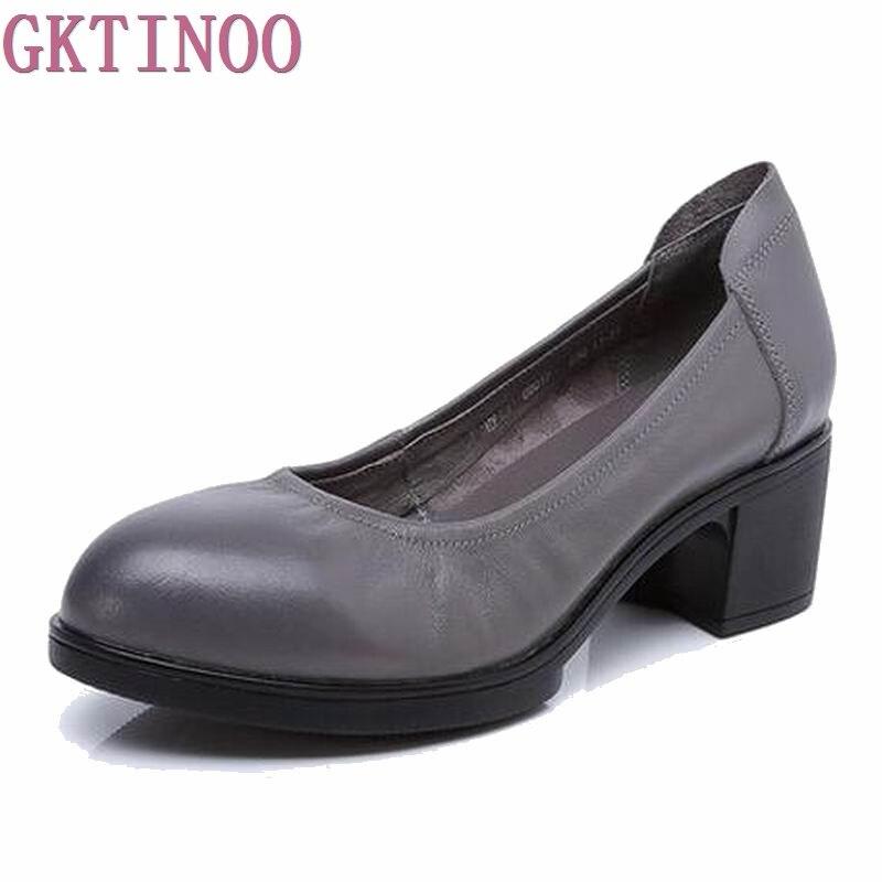 Женские туфли-лодочки на высоком каблуке из натуральной кожи женские УДОБНЫЕ черные офисные туфли из органической кожи 34-41 q8017
