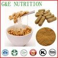 Top calidad nattokinase polvo/extracto de natto Cápsula 500 mg x 700 unids/bolsa