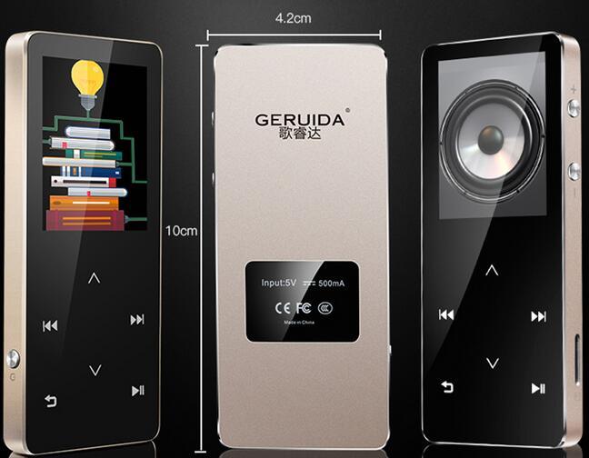 GERUIDA Bluetooth HIFI Reproductor MP4 8G Teclas táctiles MP3 - Audio y video portátil - foto 5