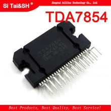 1pcs/lot TDA7854 amplifier chip TDA7850 47W x 4 generations ZIP In Stock(China)