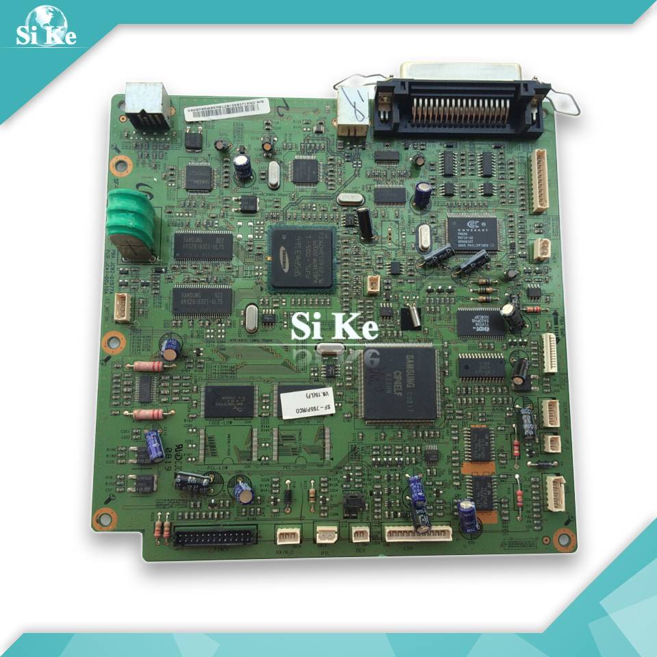 Free shipping Mainboard For Samsung SF-755P 755P 755 Formatter Board Main board on sale 100% guarantee test main formatter board for hp designjet 130 c7790 20271 mainboard free shipping on sale