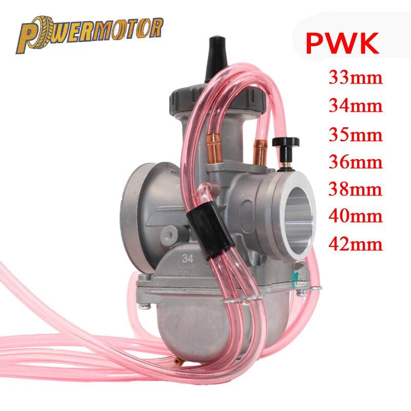 Carburateur moto PowerMotor 4 T moteur 42 33 35 36 38 40 34mm carburateur PWK carburateur utilisé à moteur tout-terrain