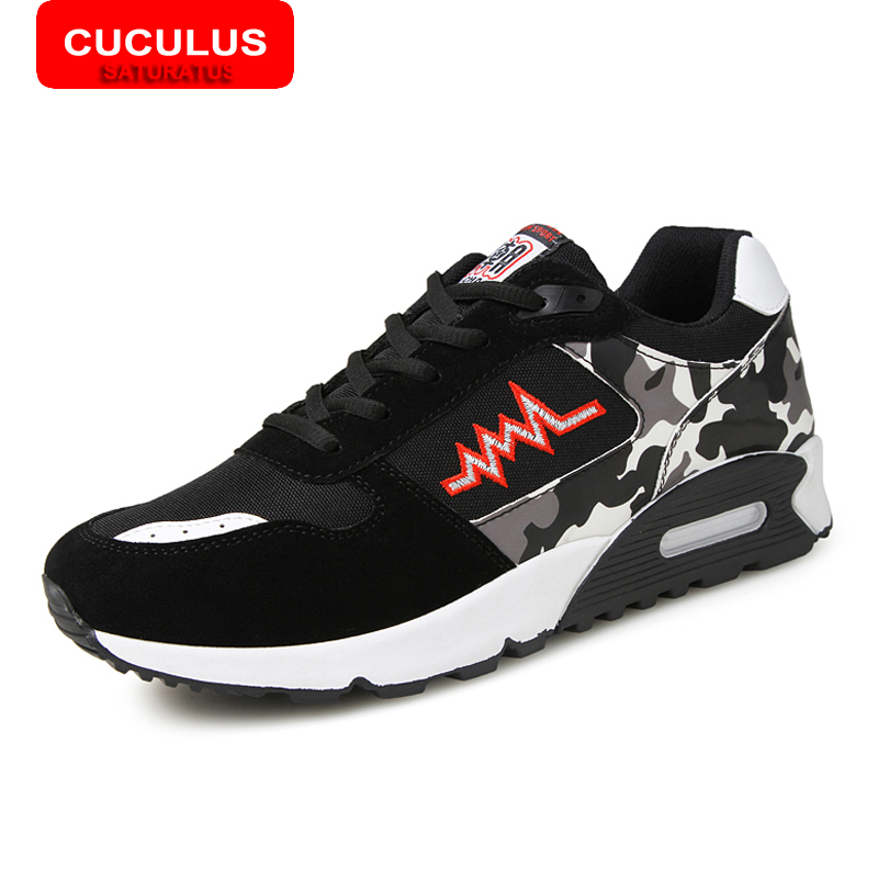 ФОТО CUCULUS Men running shoes for men sneakers Comfortable athletic sport shoes sneakers zapatillas hombre running XD9
