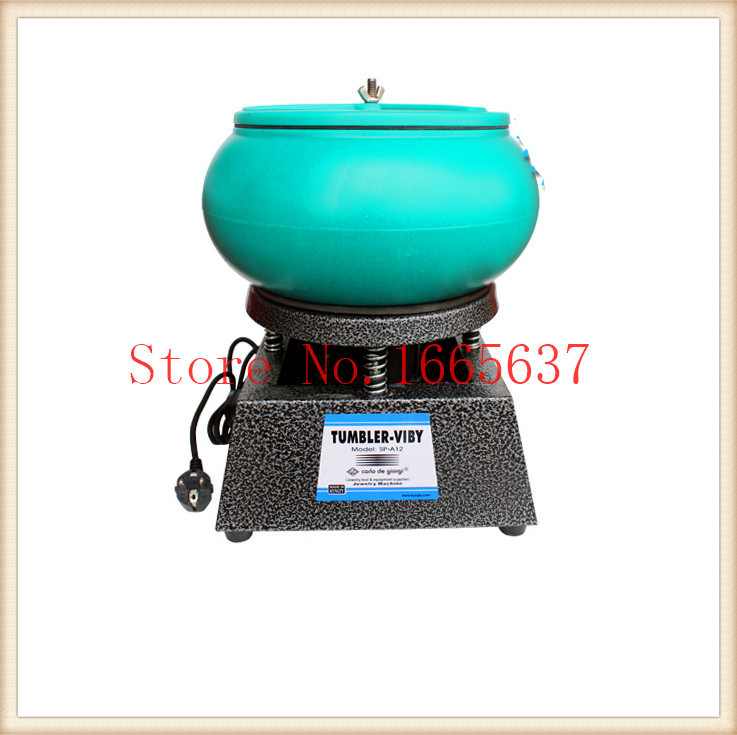 Free ship brand new Vibratory Tumbler Wet Dry Polisher Polishing Machine