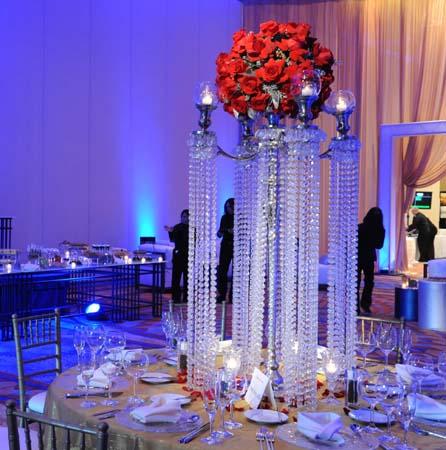 2017 Acrylic Crystal Wedding Centerpiece Decoration 70CM Tall Diameter Is 48cm 10PCS Lot