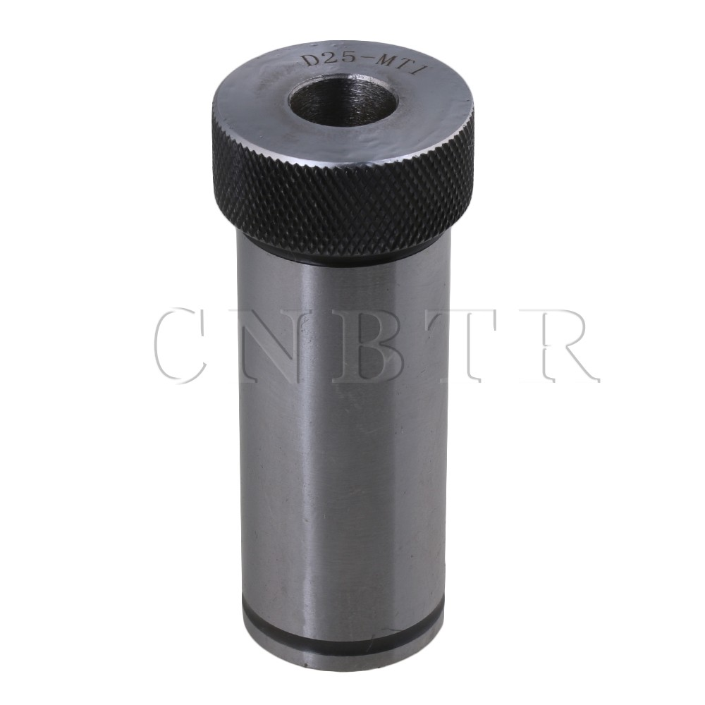 цена на CNBTR Lathe Milling D25-MT1 Arbor Morse Taper Adapter Reducing Drill Sleeve