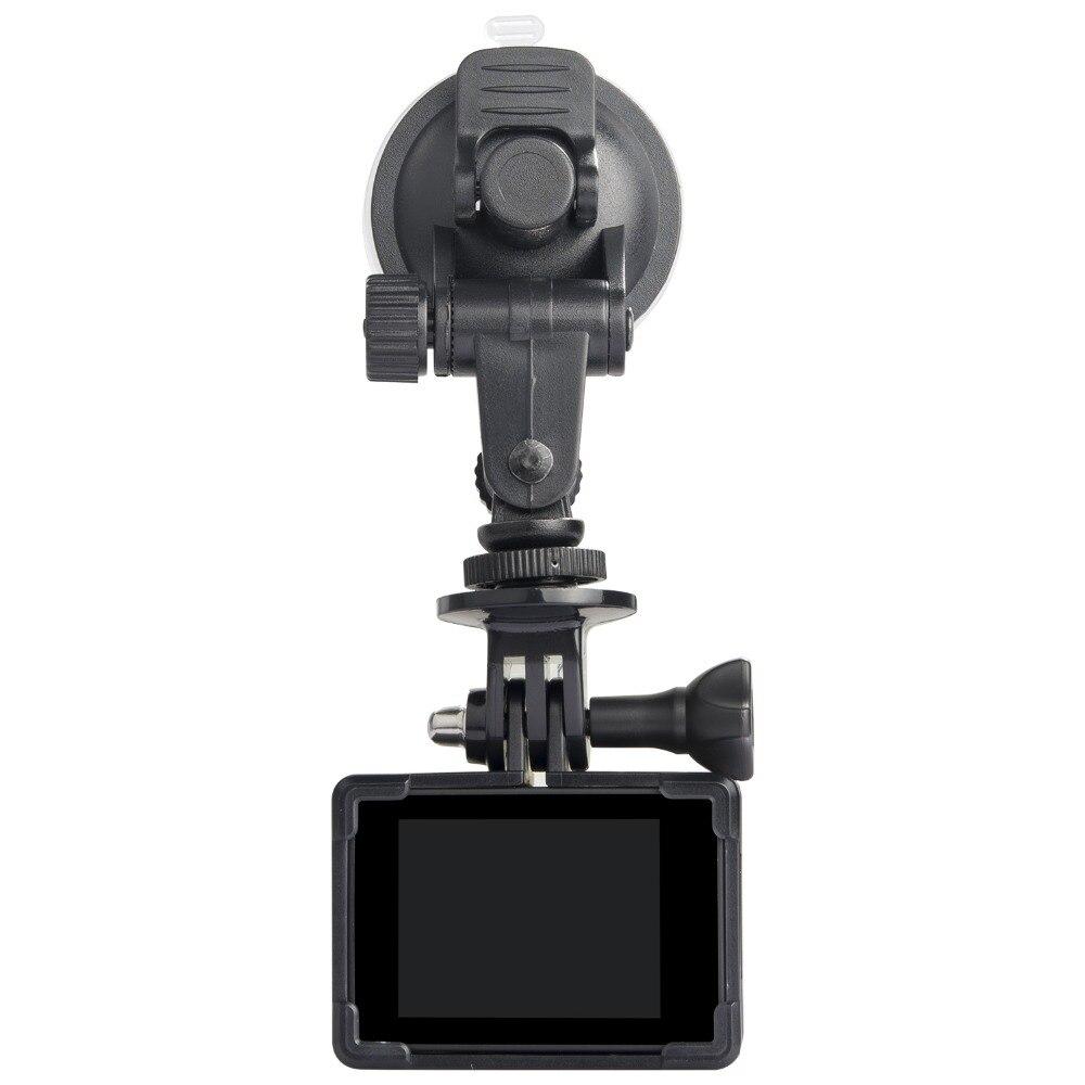 SJ4000 SJ5000 M10 M20 Chargeur De Voiture Mont + ventouse Support Support de voiture Avec Chargeur De Voiture ForSJ5000 x Série SJCAM Action Caméra