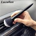 Lucullan сверхмягкая щетка для очистки волос, 20 см, удлиненная версия, для удаления электростатической пыли, инструменты для деталей, фабрика