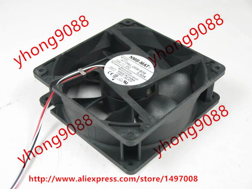 Free Shipping For NMB 4715KL-05W-B39 P51 DC 24V 0.40A 3-wire 3-pin connector 120x120x38mm Server Square Cooling Fan outdoor camping light camping lamp night market stall tent lamp home emergency lamp charging led lamp mobile power function