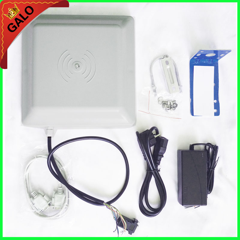 Access Control system 860~960mhz long range uhf rfid passive reader for parking solutions with 10pcs tags with free sdk цены онлайн
