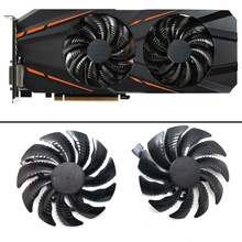 10Pcs/1Lot 88MM T129215SU 4Pin Cooling Fan For Gigabyte GTX 1050 1060 1070 960 RX 470 480 570 580 Graphics Card Cooler