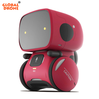 Global Drone GW A1 RC Robot Toy for Children Dance Music Record Dialogue Birthday Gifts Christmas Present Robot for Kids