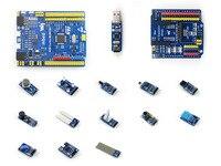 STM32 STM32F103RBT6 ARM Cortex M3 Entwicklung Board Kompatibel mit NUCLEO-F103RB + Sensoren Pack + IO Expansion Schild
