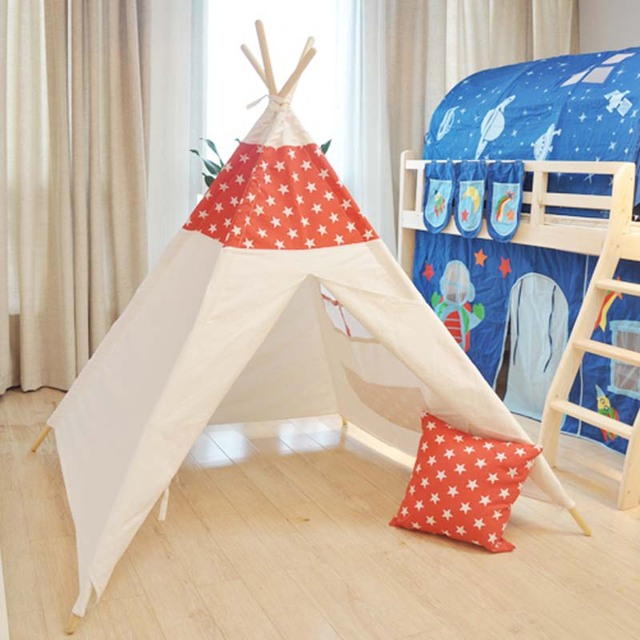 Pure cotton childrenu0027s tent All around tent room Indoor games tent house baby photography tent  sc 1 st  AliExpress.com & Pure cotton childrenu0027s tent All around tent room Indoor games tent ...