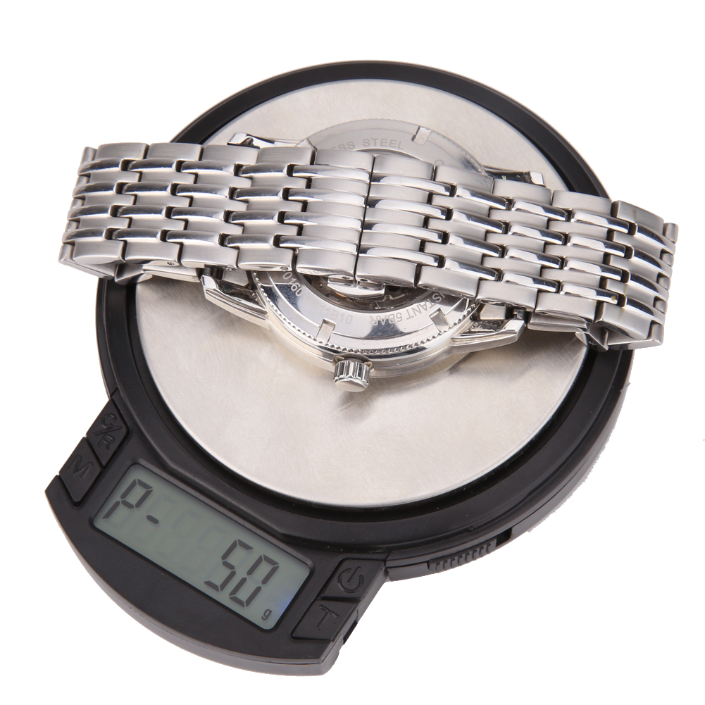 100g /0.001g Intelligent High Precision Pocket Scale LCD Electronic Diamond Jewelry Gold Digital Milligram Scale Case #LO