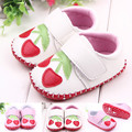 The New Hot 2017 Sale 1 Pair/lot Baby High Quality PUHand Sewn Baby Shoes for Two Colors with 11/12/13