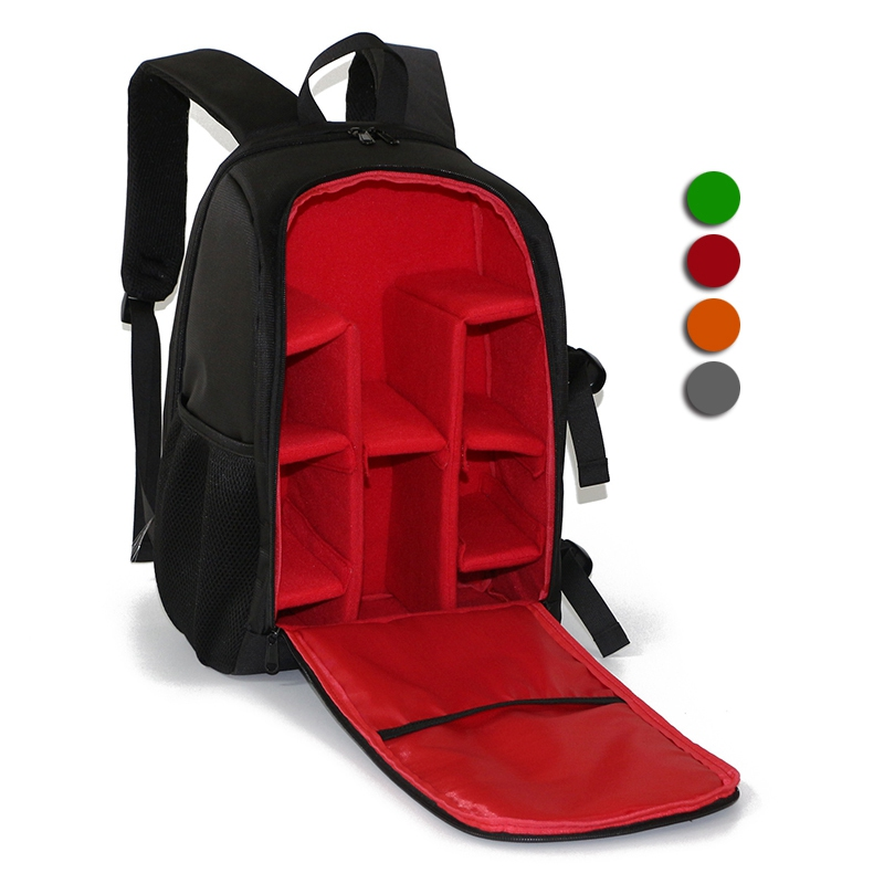 Photo Backpack for camera and Computer Backpack Pocket Camera Digital SLR Waterproof Multi-functional Camera Bag for Travel yingnuost f04 multi functional dslr slr camera bag canvas case shoulders backpack 43x33x16 cm