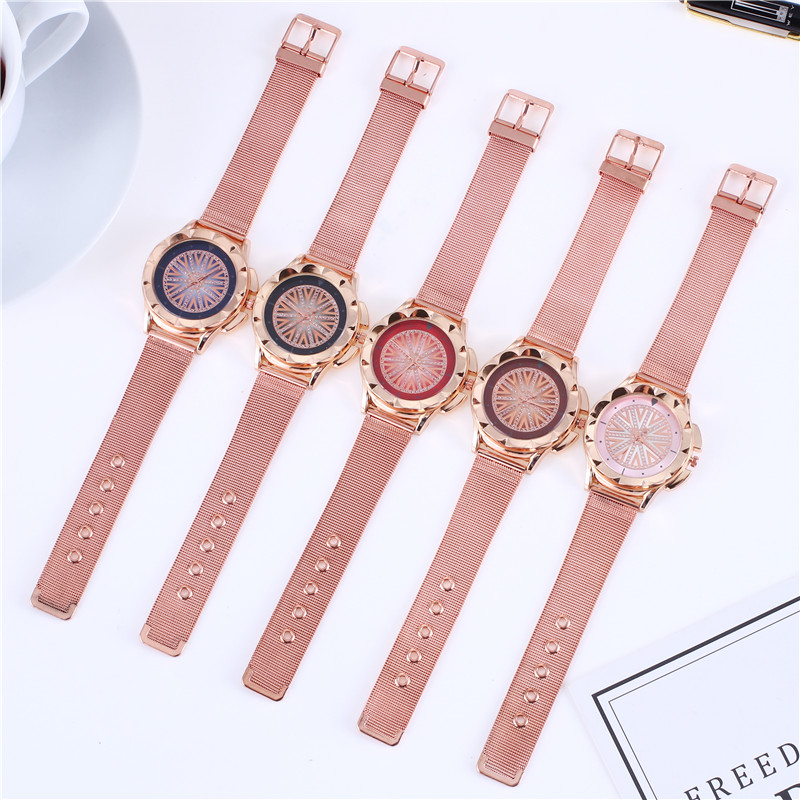 New 44 Ladies 39 Watch Deluxe Gift Watch Fashion and generosity Waterproof Woman Quartz Watch Reloj Mujer Relogio Feminino in Women 39 s Watches from Watches