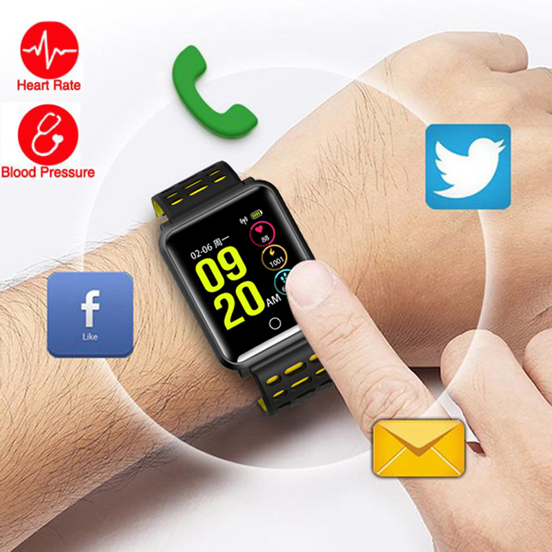 Smart Watch For Ios Android Men Women Support Blood Pressure Measurement Pedometer Fitness Bluetooth Sport Smart Bracelet IP68
